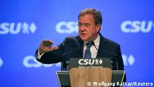 Nürnberg, Bayern | Armin Laschet beim CSU Parteitag