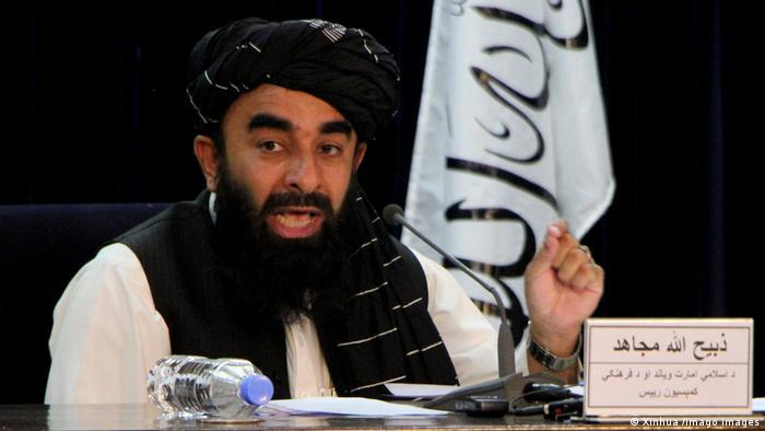 Taliban-Sprecher Sabiullah Mudschahid