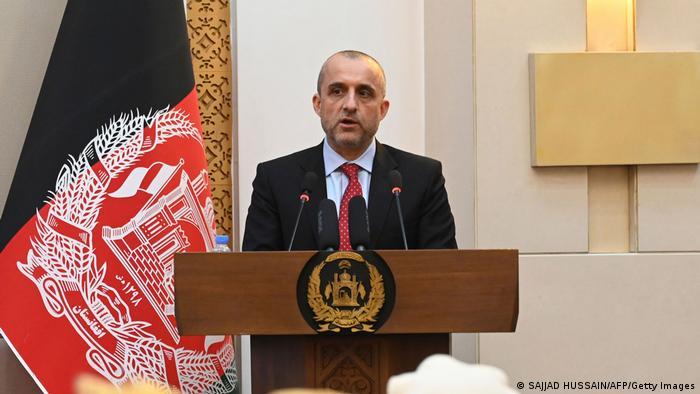 Former Afghan vice president Amrullah Saleh