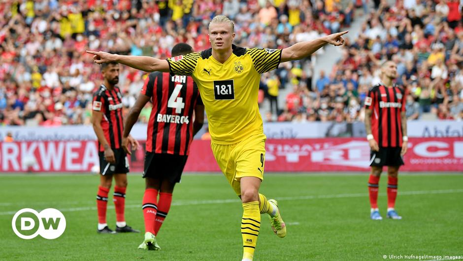 Borussia Dortmund gewinnt Spektakel bei Bayer Leverkusen