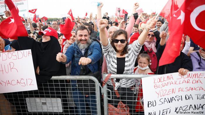 Türkei Impfgegner Proteste