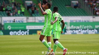 Lukas Nmecha auteur du premier but pour Wolfsburg