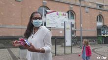 11.09.2021 Offenbach, Hessen Bundestagswahl: Wahlkampf in Offenbach - Hibba Tun Noor Kauser (SPD), Lokalpolitikerin