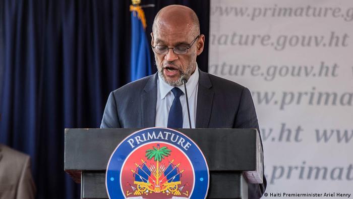 Haiti Premierminister Ariel Henry