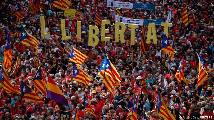 Spanien Barcelona | Nationalfeiertag Katalonien La Diada