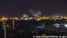 Rafah, Gaza | Israel greift erneut Hamas im Gazastreifen nach Raketenbeschuss an
