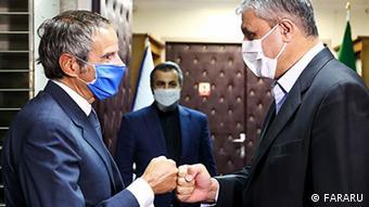 Rafael Grossi in Iran, Einigung