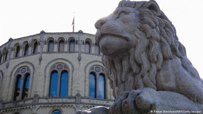 挪威正在选举新议会,图为挪威议会大楼