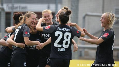 <div>Eintracht Frankfurt in form as they remain perfect in the Women's Bundesliga</div>