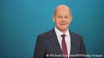 Deutschland | Bundestagswahl | TV-Triell der Kanzlerkandidaten | Scholz
