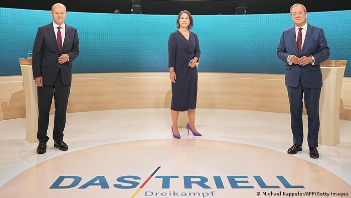 Deutschland | Bundestagswahl | TV-Triell der Kanzlerkandidaten