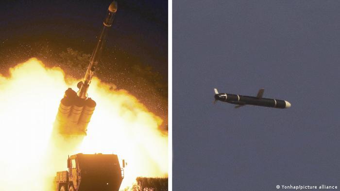 Nordkorea Langstreckenkreuzfahrt Raketentest