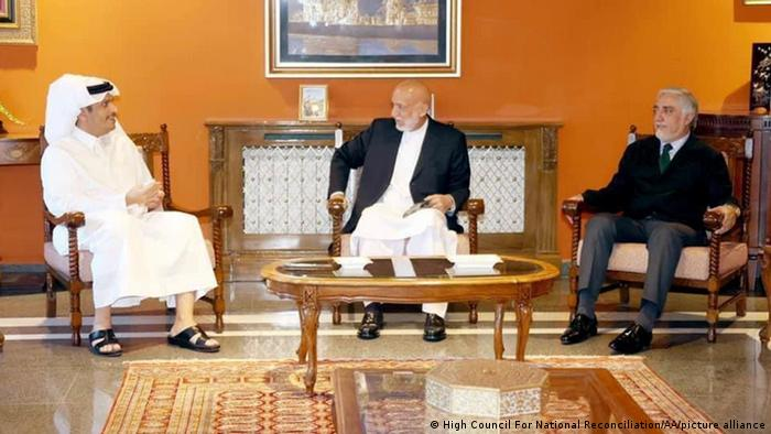 Afghanistan   katarischer Außenminister   Mohammed bin Abdulrahman Al Thani zu Besuch in Kabul