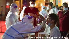 China | Ausbruch des Coronavirus in der Stadt Putian, Provinz Fujian