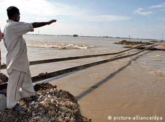 One-fifth of Pakistani territory was under water at the worst point the summer's floods