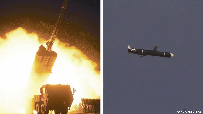 Ujicoba peluru kendali berdaya jelajah hingga 1.500 kilometer oleh Korea Utara (sumber: KCNA)