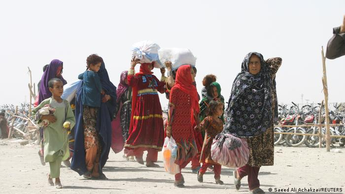 Afghans arrive in Pakistan in early September 2021