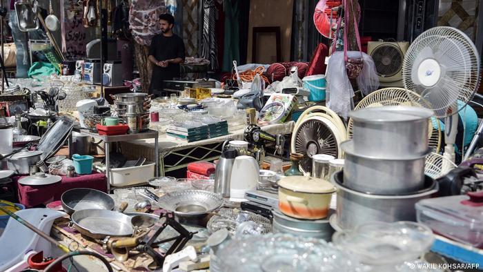 Afghanistan Kabul | Flohmärkte mit Habseligkeiten von Flüchtlingen