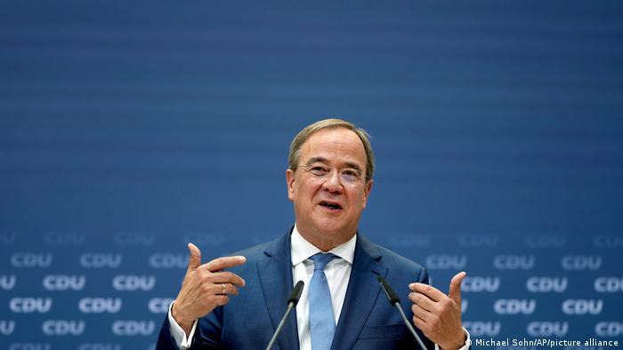 Berlin CDU candidate Armin Laschet