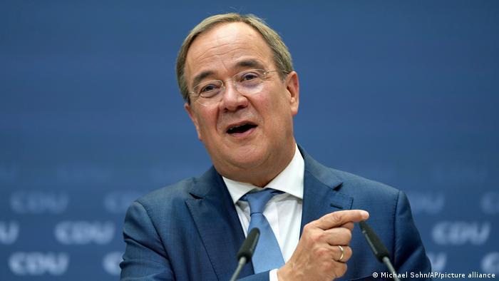 Berlin CDU-Kanzlerkandidat Armin Laschet