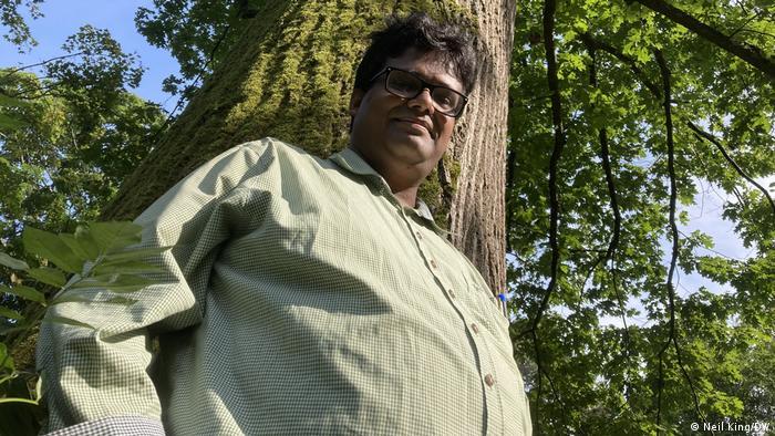 Somidh Saha, indischer Forstwirtschaft-Experte, Leiter Sylvanus-Forschungsruppe in Karlsruhe