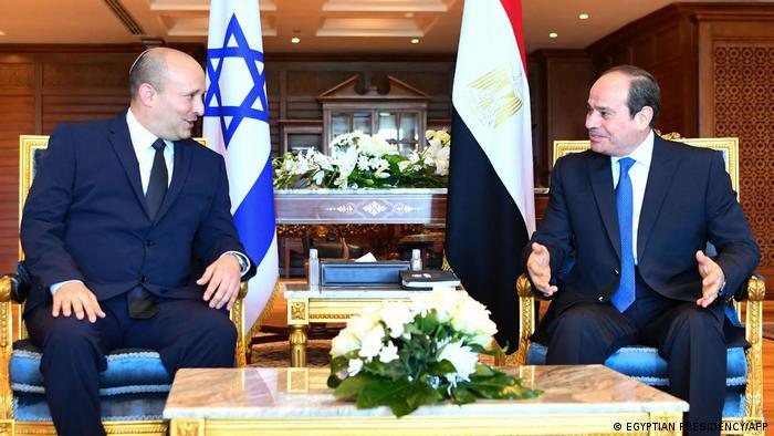 Ägypten Scharm el Scheich | Treffen Ministerpräsident Israel Bennett und Präsident al-Sisi
