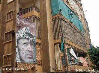 Wohnhaus im Flüchtlingslager Shatila in Beirut (Foto: Diana Hodali)