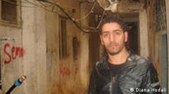 Hisham Ghuzlan in den engen Gassen von Shatila (Foto: Diana Hodali)