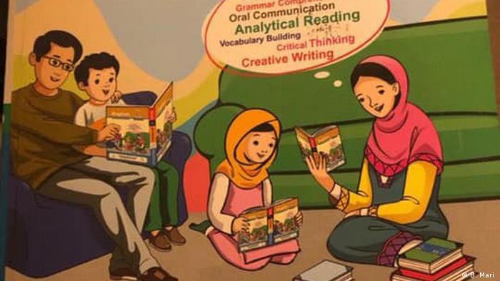 Pakaistan, Schulbuch - Achtung, schlechte Qualität