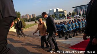 Serbien Belgrad  Angela Merkel, Bundeskanzlerin & Aleksandar Vucic, Präsident