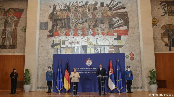 Serbien | Angela Merkel und Aleksandar Vucic