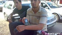 Jugendliche in Khan Younis Gaza