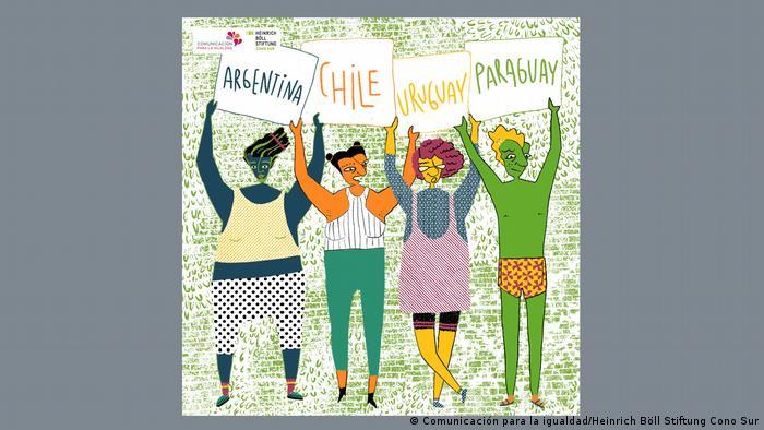 Países en los que se llevó a cabo la investigación: Argentina, Chile, Uruguay y Paraguay.