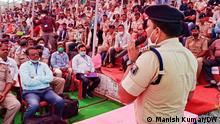 IPS Kumar Ashish, SP Kishanganj is making people aware against drugs.