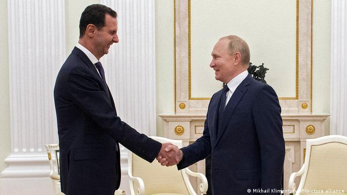 Rusya Devlet Başkanı Vladimir Putin ile Suriye Devlet Başkanı Beşar Esad Moskova'da görüştü.