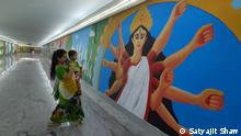 Several corners of Indian city of Kolkata have seen a makeover with the help of colourful eye-catching wall art (graffiti) which has come as a breath of fresh air for passers-by. ***September 2021