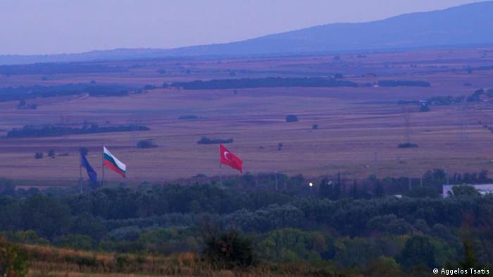 Imagine de la graniţa turco-eleno-bulgară