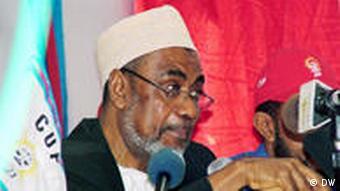 Makamu wa Kwanza wa Rais wa Zanzibar na mgombea urais kwa CUF, Maalim Seif Sharif Hamad.