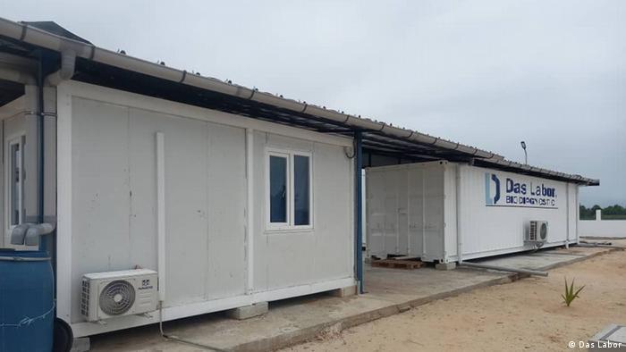 Les installations de Das Labor qui produisent des tests rapides Covid-19 en Côte d'Ivoire.