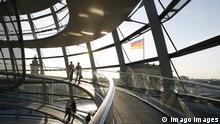 Die Kuppel des Reichstags in Berlin