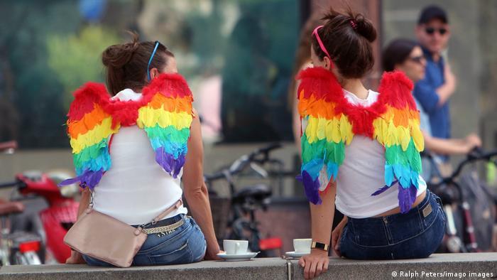 На гей-параде в Кельне
