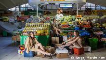 Performance Alaiskij Markt. Der Fotographer ist Sergej Mordwinow