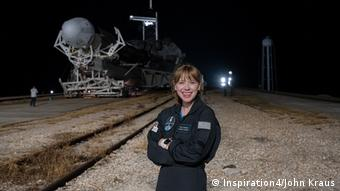SpaceX Inspiration4 Mission crew member Hayley Arceneaux