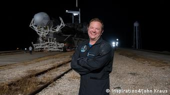 SpaceX Inspiration4 Mission crew member Chris Sembroski