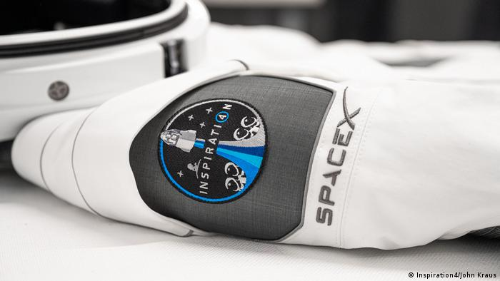 SpaceX Inspiration4 Mission space suit