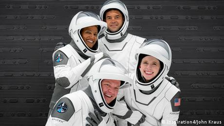 The crew of SpaceX's Inspiration4 Mission