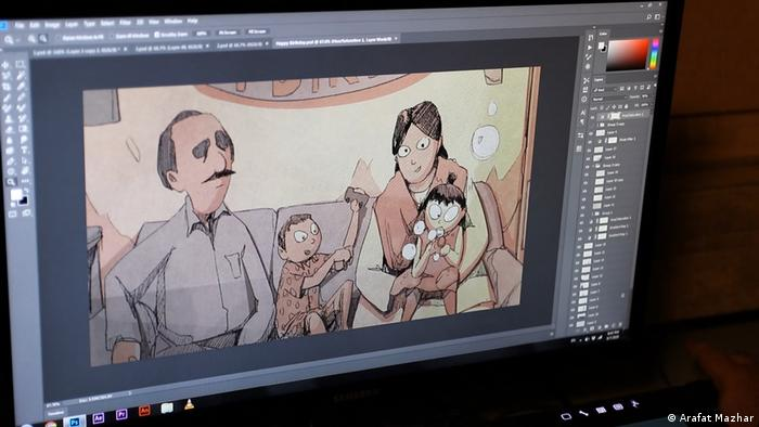Pakistani short film 'Swipe' wins a Special Jury Award at ANIMAFILM Festival
