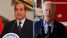 Presidency of Sudan/AA/picture alliance, Evan Vucci/AP/picture alliance (Joe Biden)