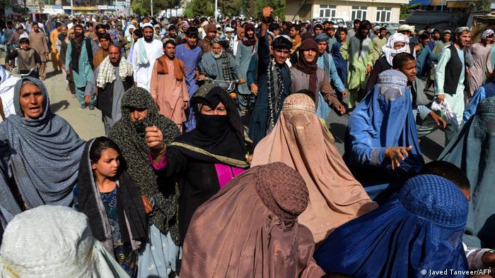 Afghanistan I Anti-Taliban-Proteste in Kandahar
