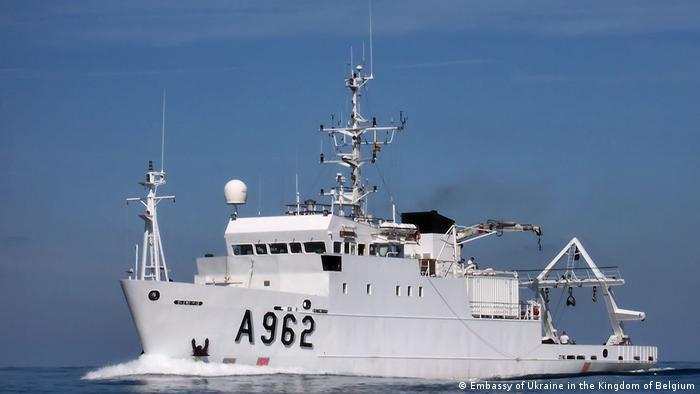 Бельгійське судно Бельгіка передали Україні